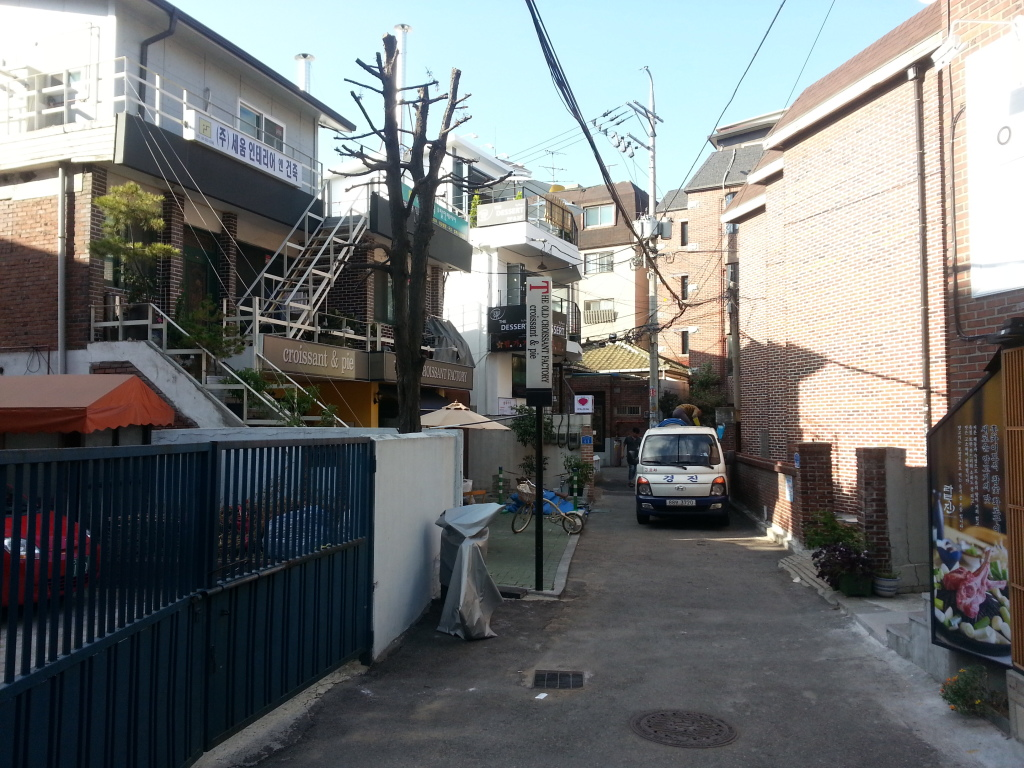 Hongdae Alley new